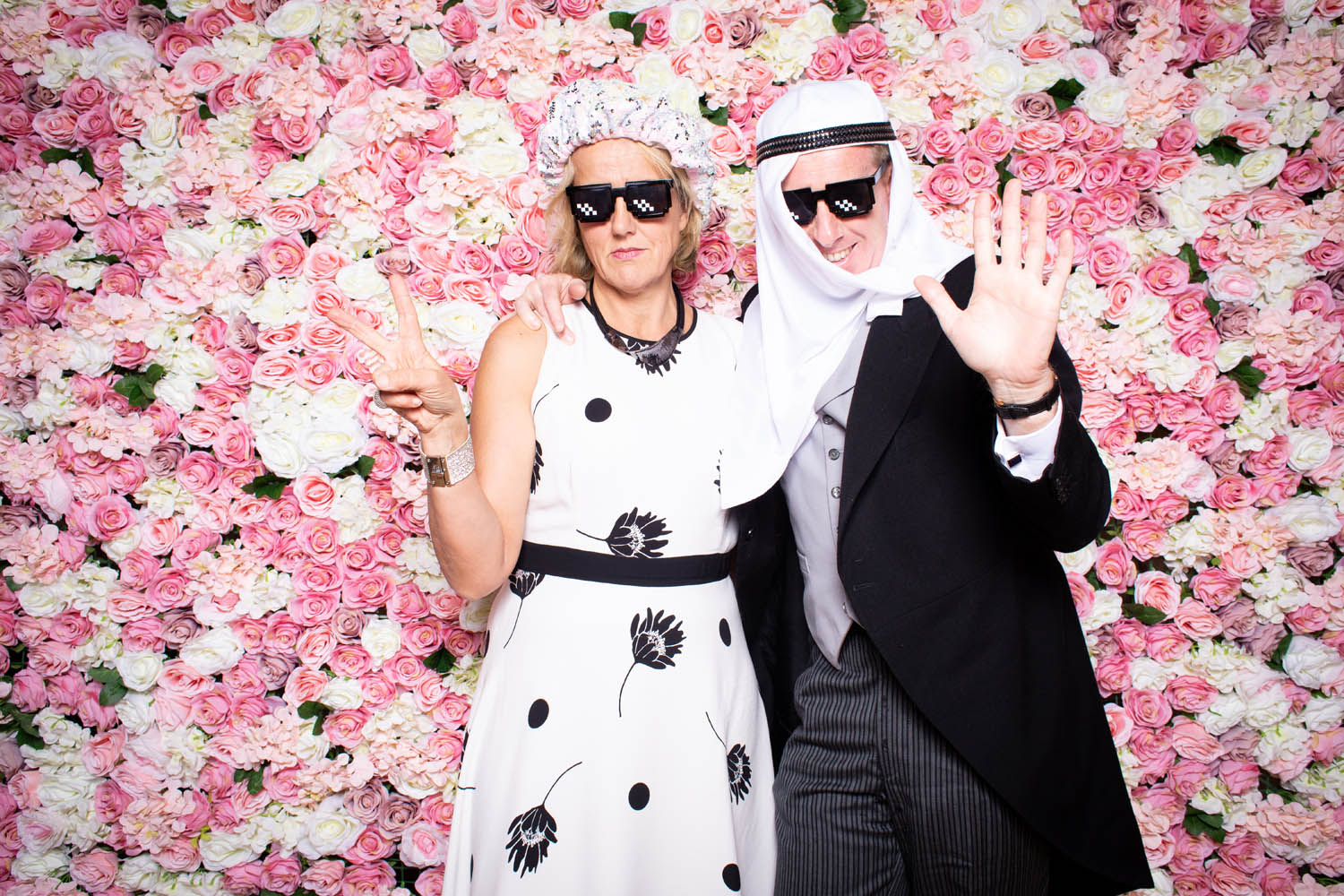 Flower Wall Photo Booth